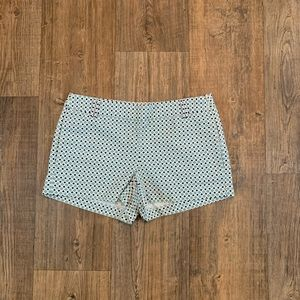 J. Crew Printed City Fit Shorts Size 4